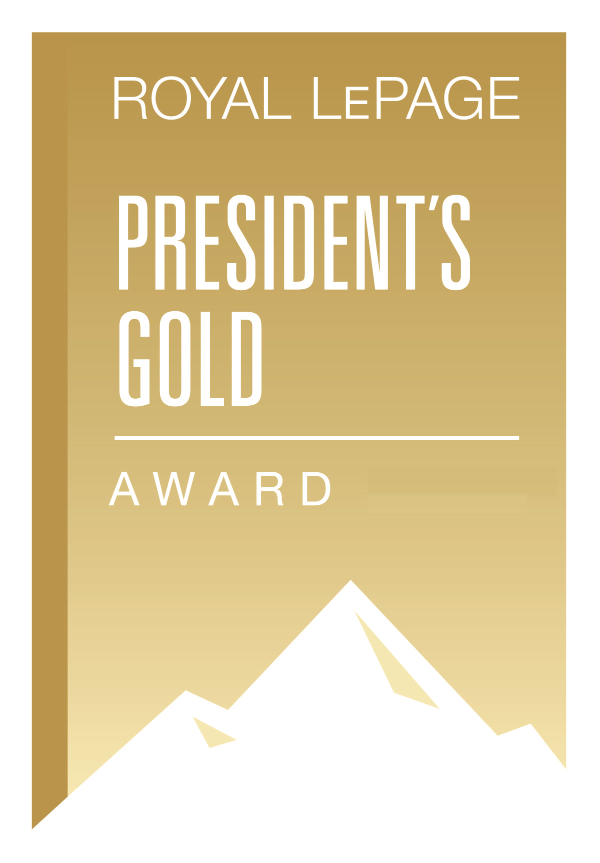 Royal LePage President's Gold Award